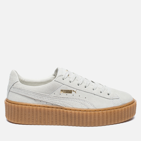 Puma x Rihanna Fenty Suede Creepers Women's Sneakers Star White