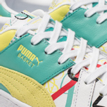 Женские кроссовки Puma x Shantell Martin Basket Graphic White/Sunny Lime фото- 6