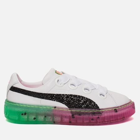 Женские кроссовки Puma x Sophia Webster Platform Candy Princess White/Black