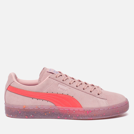 Женские кроссовки Puma x Sophia Webster Suede Crystal Rose/Fiery Coral