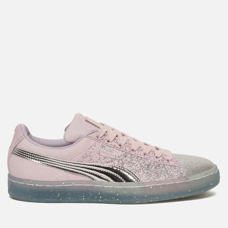 Женские кроссовки Puma x Sophia Webster Suede Glitter Princess Orchid Hush/Silver/Barely Pink