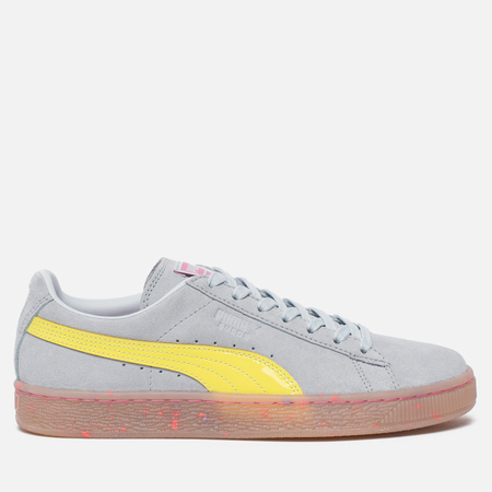 Женские кроссовки Puma x Sophia Webster Suede Illusion Blue/Fluo Yellow