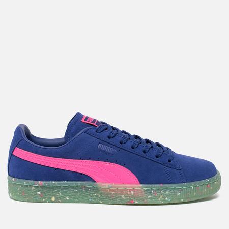 Женские кроссовки Puma x Sophia Webster Suede Spectrum Blue/Knockout Pink