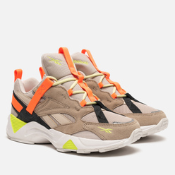 Женские кроссовки Reebok Aztrek 96 Adventure Stucco/Sand Beige/Solar Orange
