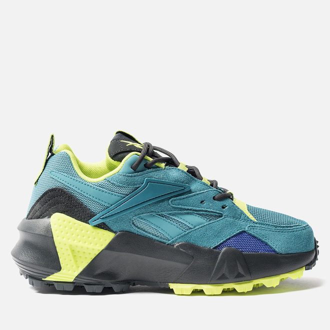 Женские кроссовки Reebok Aztrek Double Mix Mineral Mist/True Grey/Neon Lime