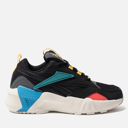 Женские кроссовки Reebok Aztrek Double NU Pops Black/Alloy/Teal Gem