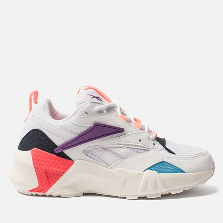 Женские кроссовки Reebok Aztrek Double NU Pops White/Grape Punch/Bright