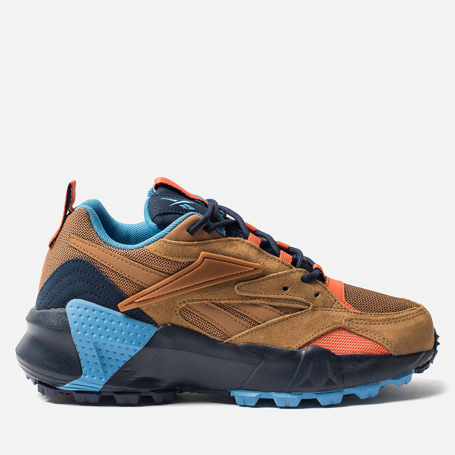 Женские кроссовки Reebok Aztrek Double Trail Wild Brown/Collegiate Navy/Cyan