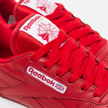 Женские кроссовки Reebok Classic Leather Scarlet/White/Gum фото- 5