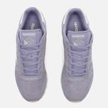 Reebok CL Suede Core Women's Sneakers Moon Violet/Chalk photo- 4