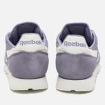 Reebok CL Suede Core Women's Sneakers Moon Violet/Chalk photo- 5