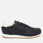 Женские кроссовки Reebok Classic Leather Clean Exotics Black/Chalk фото- 0