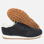 Reebok Classic Leather Clean Women's Sneakers Exotics Black/Chalk photo- 2