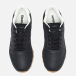 Женские кроссовки Reebok Classic Leather Clean Exotics Black/Chalk фото- 4