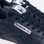 Женские кроссовки Reebok Classic Leather Collegiate Navy/White/Gum фото- 5