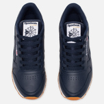 Женские кроссовки Reebok Classic Leather Collegiate Navy/White/Gum фото- 4