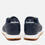 Женские кроссовки Reebok Classic Leather Collegiate Navy/White/Gum фото- 3