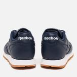 Reebok Classic Leather Women's Sneakers Collegiate Navy/White/Gum photo- 3
