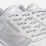 Женские кроссовки Reebok Classic Leather Diamond Silver Metallic/Snow Grey/White фото- 5
