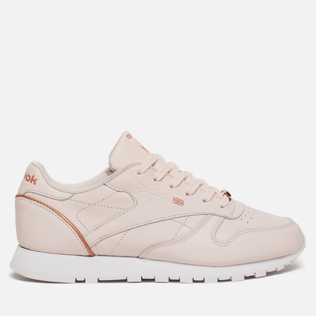 Женские кроссовки Reebok Classic Leather HW Pale Pink/Rose Gold/White