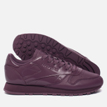 Женские кроссовки Reebok Classic Leather IL Washed Plum фото- 3