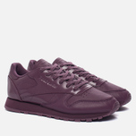 Женские кроссовки Reebok Classic Leather IL Washed Plum фото- 1