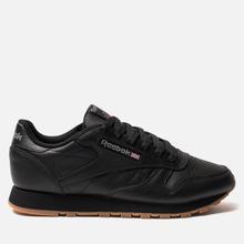 Женские кроссовки Reebok Classic Leather Intense Black/Gum фото- 3