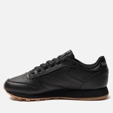 Женские кроссовки Reebok Classic Leather Intense Black/Gum фото- 5