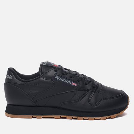 Женские кроссовки Reebok Classic Leather Intense Black/Gum