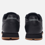 Женские кроссовки Reebok Classic Leather Intense Black/Gum фото- 3
