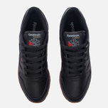Женские кроссовки Reebok Classic Leather Intense Black/Gum фото- 4