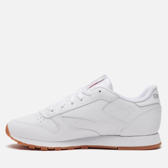 Женские кроссовки Reebok Classic Leather Intense White/Gum