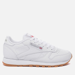 Женские кроссовки Reebok Classic Leather Intense White/Gum фото- 0
