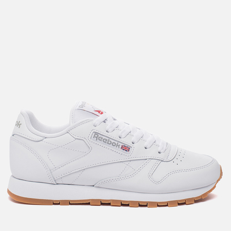 Женские кроссовки Reebok Classic Leather Intense White/Gum