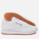 Женские кроссовки Reebok Classic Leather Intense White/Gum фото- 2