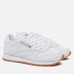 Женские кроссовки Reebok Classic Leather Intense White/Gum фото- 1