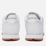 Женские кроссовки Reebok Classic Leather Intense White/Gum фото- 3