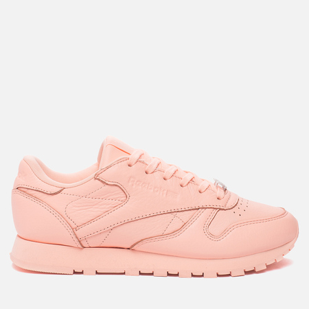 Женские кроссовки Reebok Classic Leather Lux Grapefruit-Peach Twist/Sleek Met