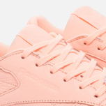 Женские кроссовки Reebok Classic Leather Lux Grapefruit-Peach Twist/Sleek Met фото- 5
