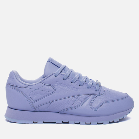 Женские кроссовки Reebok Classic Leather Lux Grit/Lilac Glow/Sleek Metallic