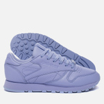 Женские кроссовки Reebok Classic Leather Lux Grit/Lilac Glow/Sleek Metallic фото- 1