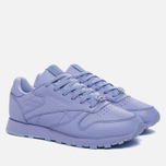 Женские кроссовки Reebok Classic Leather Lux Grit/Lilac Glow/Sleek Metallic фото- 2