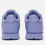 Женские кроссовки Reebok Classic Leather Lux Grit/Lilac Glow/Sleek Metallic фото- 3