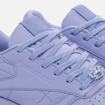 Женские кроссовки Reebok Classic Leather Lux Grit/Lilac Glow/Sleek Metallic фото- 5