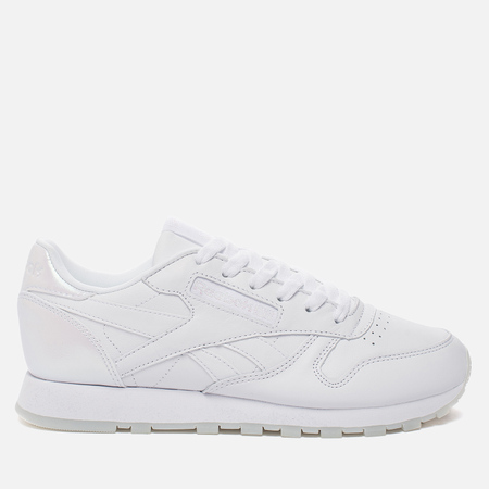 Женские кроссовки Reebok Classic Leather Lux White/White/Ice