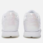 Женские кроссовки Reebok Classic Leather Lux White/White/Ice фото- 3