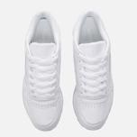 Женские кроссовки Reebok Classic Leather Lux White/White/Ice фото- 4