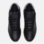 Женские кроссовки Reebok Classic Leather Met Diamond Black/Gum фото- 4