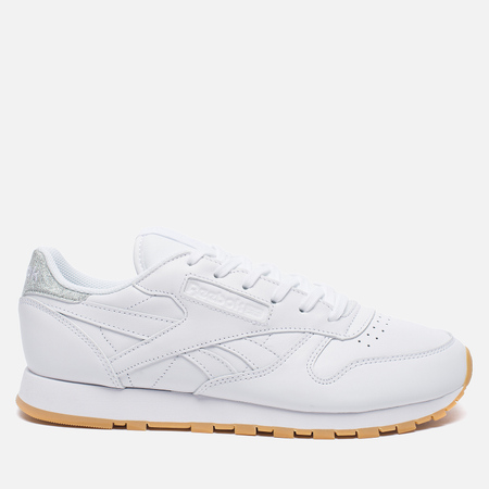 Женские кроссовки Reebok Classic Leather Met Diamond White/Gum