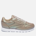Женские кроссовки Reebok Classic Leather Pearlized Champagne/White фото- 0